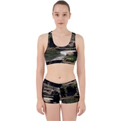 Tanah Lot Bali Indonesia Work It Out Sports Bra Set