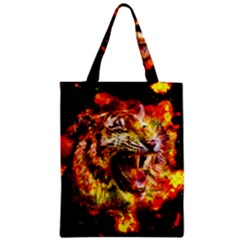 Fire Tiger Classic Tote Bag by stockimagefolio1