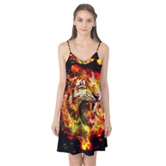 Fire Tiger Camis Nightgown by stockimagefolio1