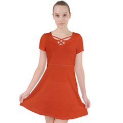 Kellytvgear Orange   Web Dress