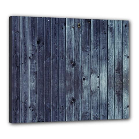 Grey Fence 2 Canvas 24  X 20  by trendistuff