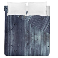 Grey Fence 2 Duvet Cover Double Side (queen Size) by trendistuff
