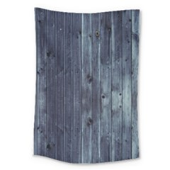 Grey Fence 2 Large Tapestry by trendistuff