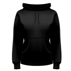 Black Women s Pullover Hoodie by theunrulyartist