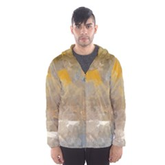 Sunset In The Mountains Hooded Wind Breaker (men) by theunrulyartist
