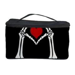 I Just Love Halloween Cosmetic Storage Case by Valentinaart