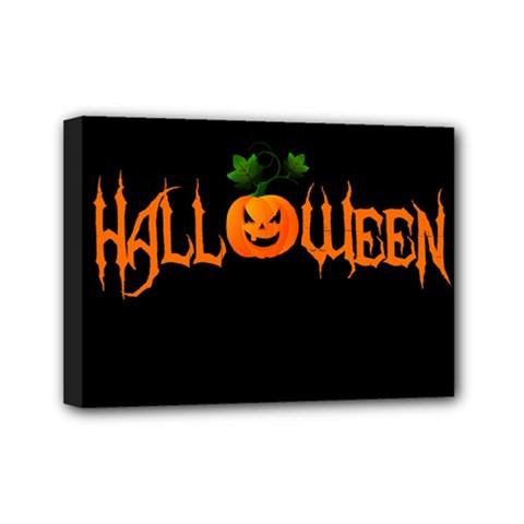 Halloween Mini Canvas 7  X 5  by Valentinaart