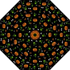 Pumpkins   Halloween Pattern Golf Umbrellas by Valentinaart