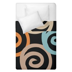 Abroad Spines Circle Duvet Cover Double Side (single Size) by Mariart