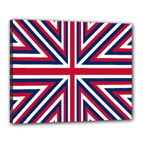 Alternatively Mega British America Canvas 20  X 16  by Mariart