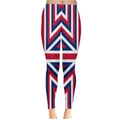Alternatively Mega British America Leggings  by Mariart