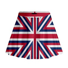 Alternatively Mega British America Mini Flare Skirt by Mariart