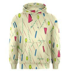 Background  With Lines Triangles Men s Pullover Hoodie