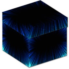 Colorful Light Ray Border Animation Loop Blue Motion Background Space Storage Stool 12   by Mariart