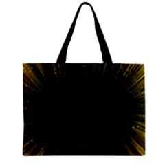 Colorful Light Ray Border Animation Loop Yellow Zipper Mini Tote Bag by Mariart