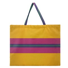 Layer Retro Colorful Transition Pack Alpha Channel Motion Line Zipper Large Tote Bag by Mariart