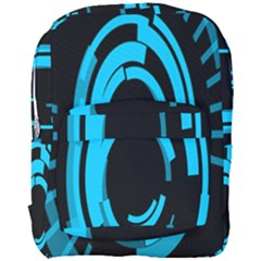 Graphics Abstract Motion Background Eybis Foxe Full Print Backpack