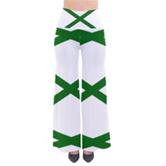 Lissajous Small Green Line Pants by Mariart