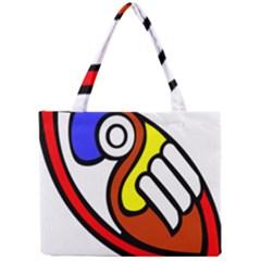 Pedernal Art Circle Sign Mini Tote Bag by Mariart