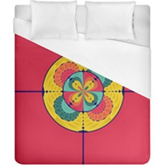 Color Scope Duvet Cover (california King Size) by linceazul