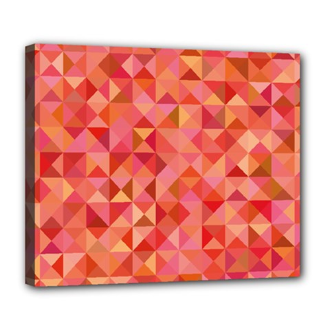 Mosaic Pattern 6 Deluxe Canvas 24  X 20   by tarastyle