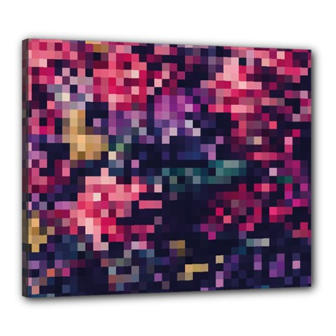 Mosaic Pattern 8 Canvas 24  X 20  by tarastyle
