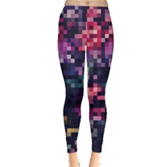 Mosaic Pattern 8 Leggings  by tarastyle