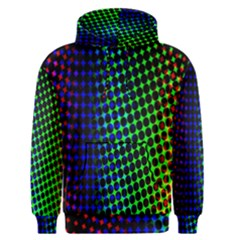 Digitally Created Halftone Dots Abstract Background Design Men s Pullover Hoodie