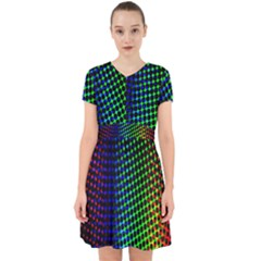 Digitally Created Halftone Dots Abstract Background Design Adorable In Chiffon Dress