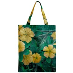 Yellow Flowers At Nature Classic Tote Bag by dflcprints