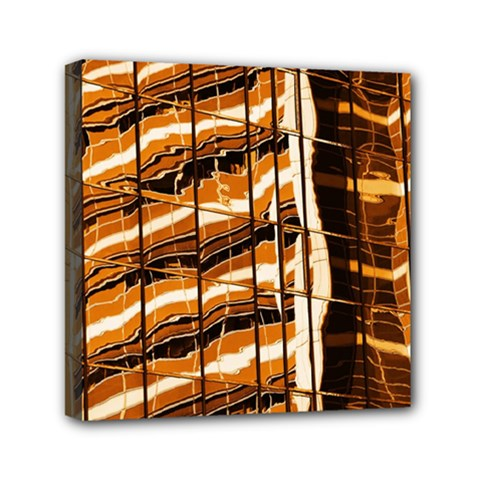 Abstract Architecture Background Mini Canvas 6  X 6  by Nexatart