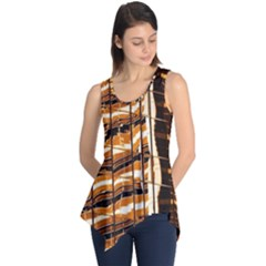 Abstract Architecture Background Sleeveless Tunic