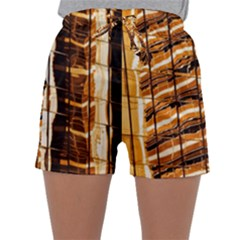 Abstract Architecture Background Sleepwear Shorts