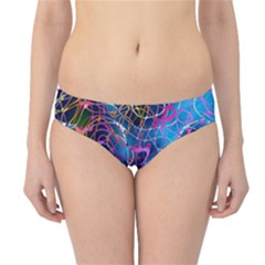 Background Chaos Mess Colorful Hipster Bikini Bottoms