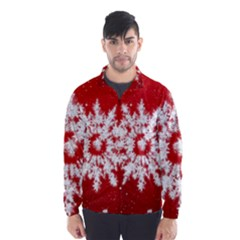 Background Christmas Star Wind Breaker (men)