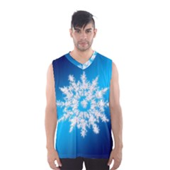 Background Christmas Star Men s Basketball Tank Top