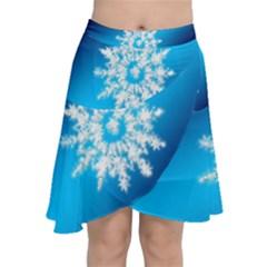 Background Christmas Star Chiffon Wrap