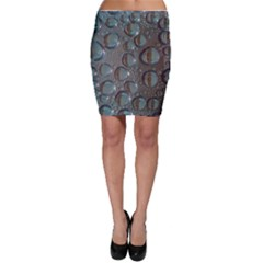 Drop Of Water Condensation Fractal Bodycon Skirt