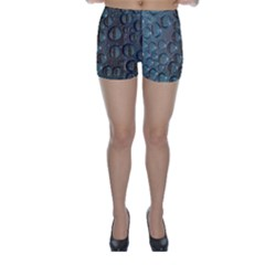Drop Of Water Condensation Fractal Skinny Shorts