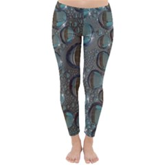 Drop Of Water Condensation Fractal Classic Winter Leggings
