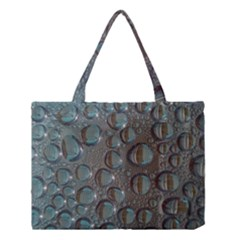 Drop Of Water Condensation Fractal Medium Tote Bag