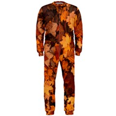Fall Foliage Autumn Leaves October Onepiece Jumpsuit (men)