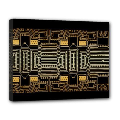 Board Digitization Circuits Canvas 14  X 11