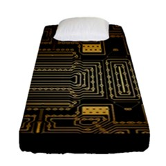 Board Digitization Circuits Fitted Sheet (single Size)