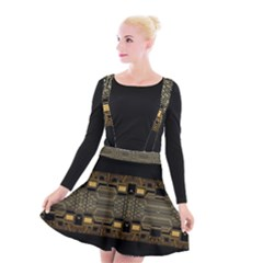 Board Digitization Circuits Suspender Skater Skirt