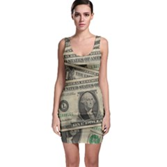 Dollar Currency Money Us Dollar Bodycon Dress