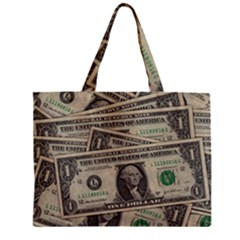 Dollar Currency Money Us Dollar Mini Tote Bag