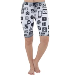 Icon Ball Logo Google Networking Cropped Leggings