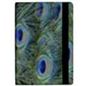 Peacock Feathers Blue Bird Nature Apple iPad Pro 9.7   Flip Case View2