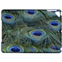 Peacock Feathers Blue Bird Nature Apple iPad Pro 9.7   Hardshell Case View1